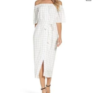 Charles Henry mid dress size XL white NWT